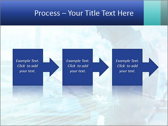 Blue science PowerPoint Template - Slide 88
