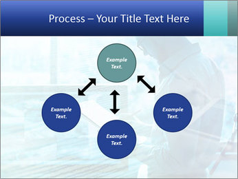 Blue science PowerPoint Template - Slide 91