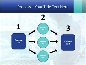 Blue science PowerPoint Template - Slide 92