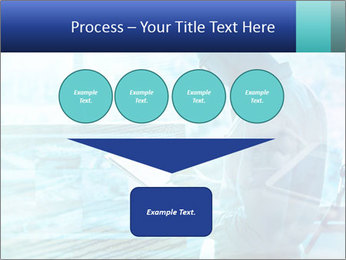 Blue science PowerPoint Template - Slide 93