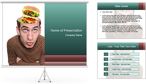 Food For Thought PowerPoint Template