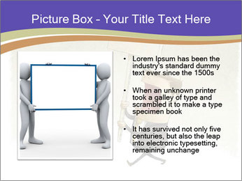Businessman demonstration PowerPoint Template - Slide 13