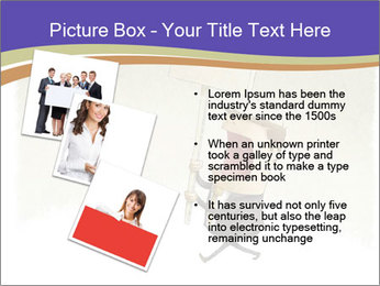 Businessman demonstration PowerPoint Template - Slide 17
