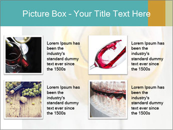 White wine PowerPoint Template - Slide 14