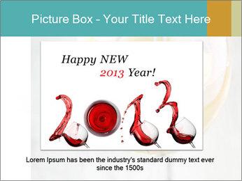 White wine PowerPoint Template - Slide 15