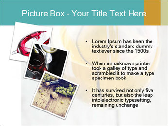 White wine PowerPoint Template - Slide 17