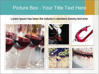 White wine PowerPoint Template - Slide 19