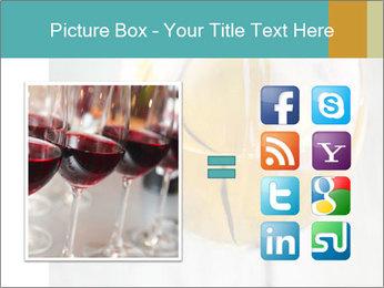 White wine PowerPoint Template - Slide 21