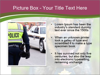 Police dog PowerPoint Template - Slide 13