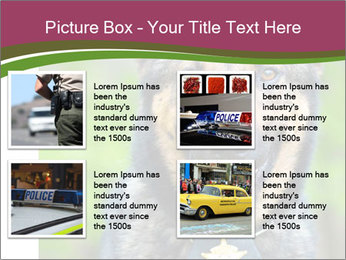Police dog PowerPoint Templates - Slide 14