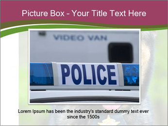 Police dog PowerPoint Template - Slide 15