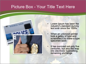 Police dog PowerPoint Template - Slide 20