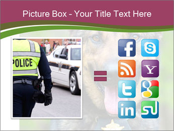 Police dog PowerPoint Template - Slide 21