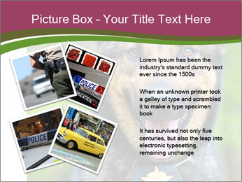 Police dog PowerPoint Templates - Slide 23