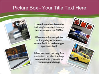 Police dog PowerPoint Templates - Slide 24
