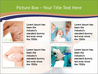 Beautiful smile woman PowerPoint Template - Slide 14