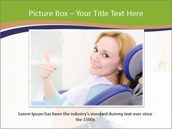 Beautiful smile woman PowerPoint Template - Slide 15