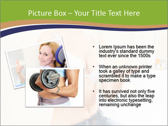 Beautiful smile woman PowerPoint Template - Slide 20