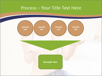 Beautiful smile woman PowerPoint Template - Slide 93
