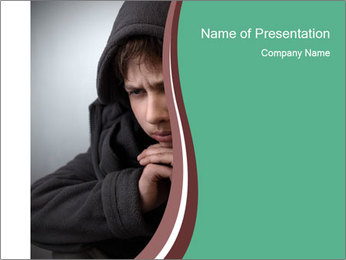 Teenagers PowerPoint Template - Slide 1