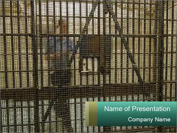 Prison PowerPoint Template - Slide 1