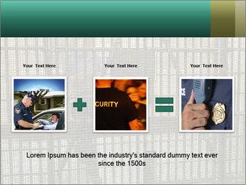 Prison PowerPoint Template - Slide 22