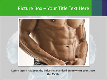 Fitness Model PowerPoint Template - Slide 15