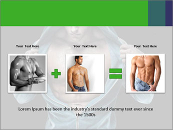 Fitness Model PowerPoint Template - Slide 22