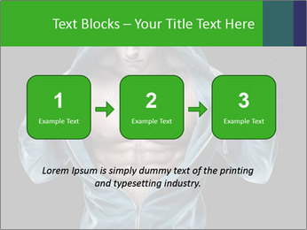 Fitness Model PowerPoint Template - Slide 71