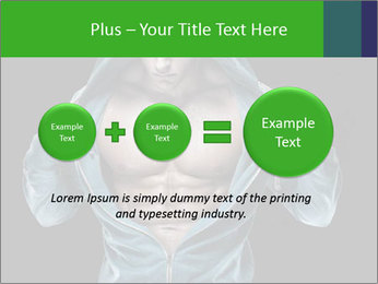 Fitness Model PowerPoint Template - Slide 75