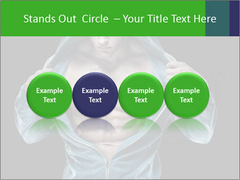 Fitness Model PowerPoint Template - Slide 76