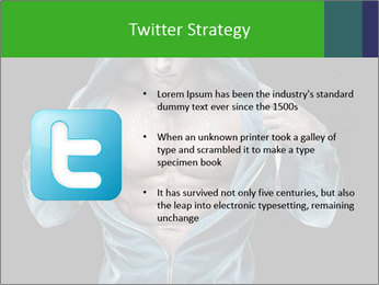 Fitness Model PowerPoint Template - Slide 9
