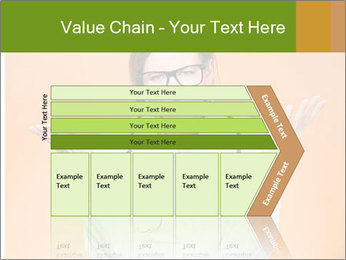 The doctor on an orange background PowerPoint Template - Slide 27
