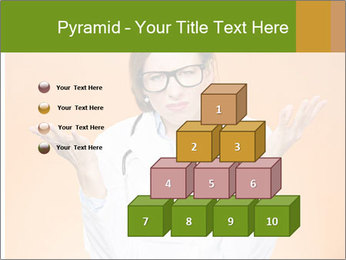 The doctor on an orange background PowerPoint Template - Slide 31