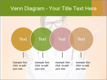 The doctor on an orange background PowerPoint Template - Slide 32