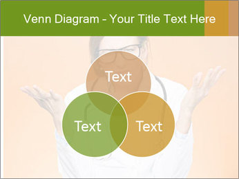 The doctor on an orange background PowerPoint Template - Slide 33