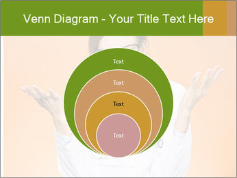 The doctor on an orange background PowerPoint Template - Slide 34