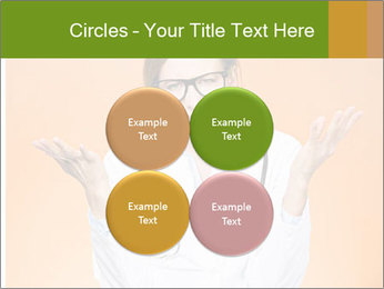 The doctor on an orange background PowerPoint Template - Slide 38