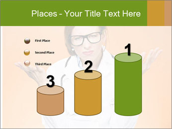 The doctor on an orange background PowerPoint Template - Slide 65