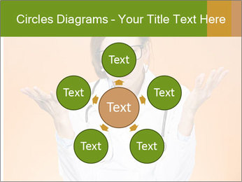 The doctor on an orange background PowerPoint Template - Slide 78
