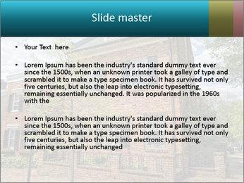 Georgetown PowerPoint Template - Slide 2