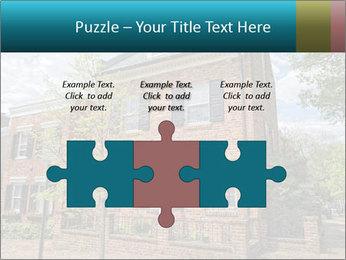 Georgetown PowerPoint Template - Slide 42