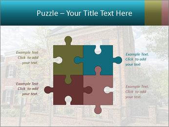Georgetown PowerPoint Template - Slide 43