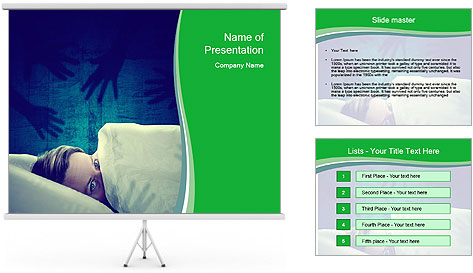 Nightmare PowerPoint Template