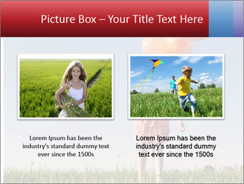 Happy girl PowerPoint Template - Slide 18