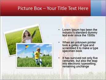 Happy girl PowerPoint Template - Slide 20