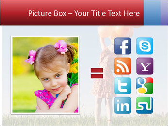 Happy girl PowerPoint Template - Slide 21