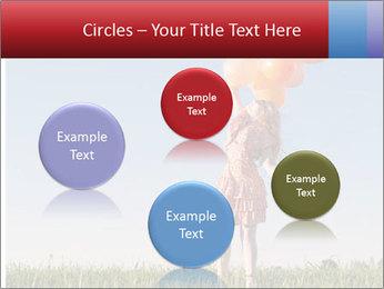 Happy girl PowerPoint Template - Slide 77