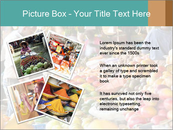 Vegetable market PowerPoint Templates - Slide 23
