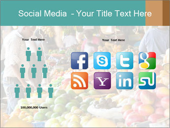 Vegetable market PowerPoint Templates - Slide 5